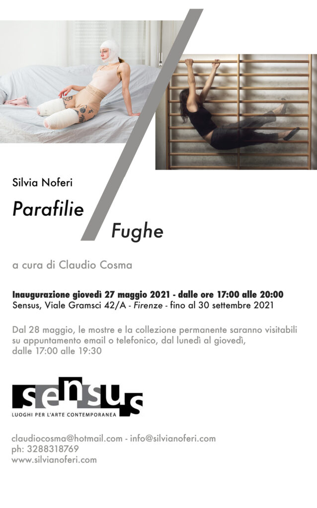 Parafilie / Fughe – new exhibition